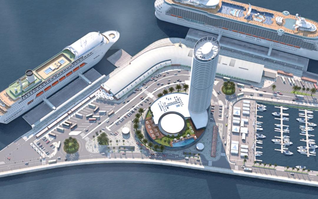 La Torre del Puerto y la economía de Málaga: empleo e impacto directo