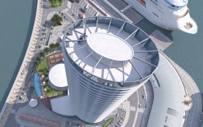 Urbanismo prevé un plazo mínimo de nueve meses para aprobar la torre del Puerto (diario SUR)