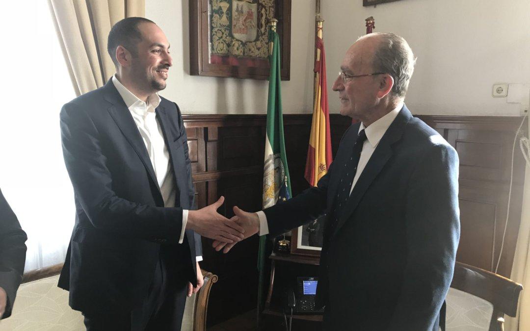 La promotora de la Torre del Puerto de Málaga refuerza su compromiso con la ciudad y con el proyecto hotelero de lujo