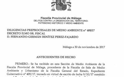 La Fiscalía archiva la denuncia de la Academia de San Telmo contra la Torre del Puerto por basarse en «argumentos de conveniencia» y no de legalidad