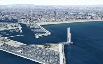 La Torre Eólica de la Marina de Valencia