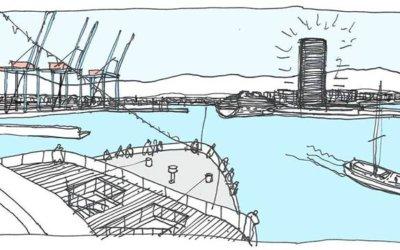 Más de 23000 apoyos a la Torre del Puerto de Málaga