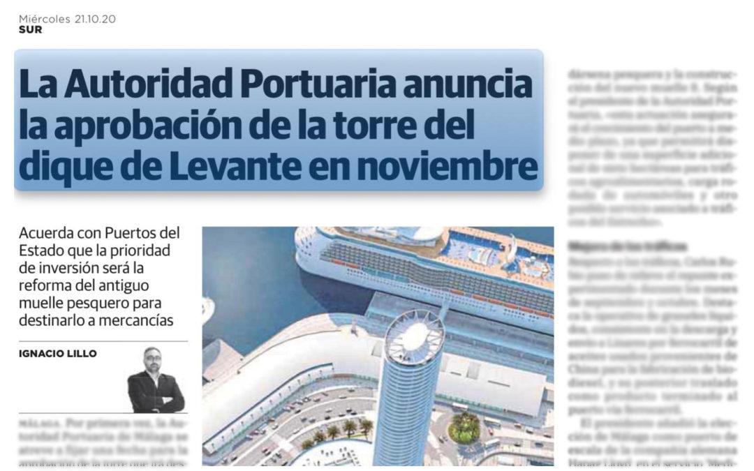La Autoridad Portuaria de Málaga y Puertos del Estado anuncian la Aprobación Inicial del Plan Especial en noviembre