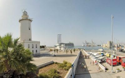 Visualizaciones de la Torre con respecto a la Ciudad y su Puerto