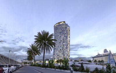 Presentación de la Propuesta del Hotel-Convenciones «Torre del Puerto»